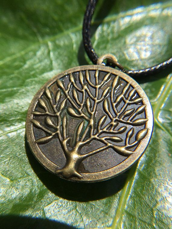 """Tree of life necklace 