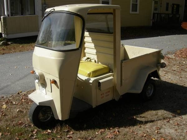 Cushman Truckster I Would Take One Of These In A Heartbeat