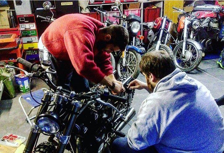 Entrophymotorbike #caferacer #custom #motos #entrophymotorbike