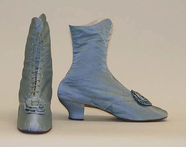 Shoes 1870s   American or European   The Met