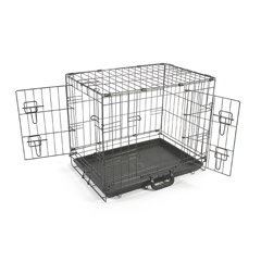 Extra Space Dog Cage with Free Divider by PetPlanet Large Wire Dog Cages for Sale