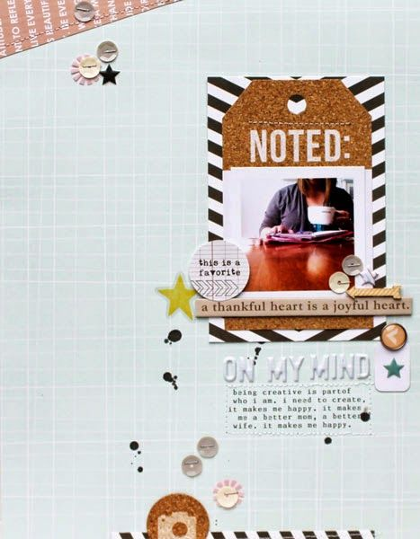 #papercraft #scrapbooking #layout - by Mel B