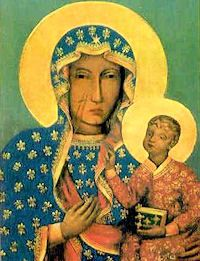 Our Lady of Czestochowa pray for us.  Feast day August 26.