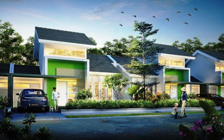 keren hunian mungil #rumah #minimalis #fasad #desain