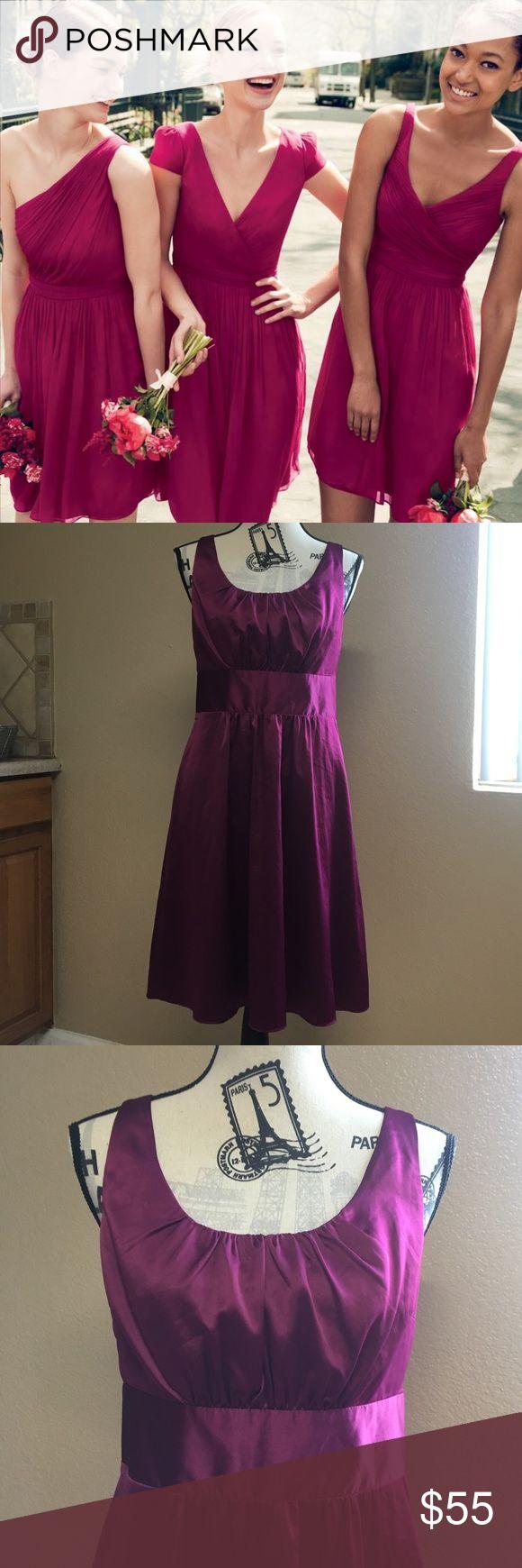Die besten 25 j crew brautjungfernkleider ideen auf pinterest j crew bridesmaids dress size 8 fuchsia purple ombrellifo Choice Image