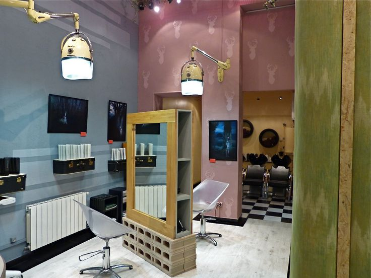 Decoracion tocadores sillones peluqueria vanguardia for Decoracion en peluquerias