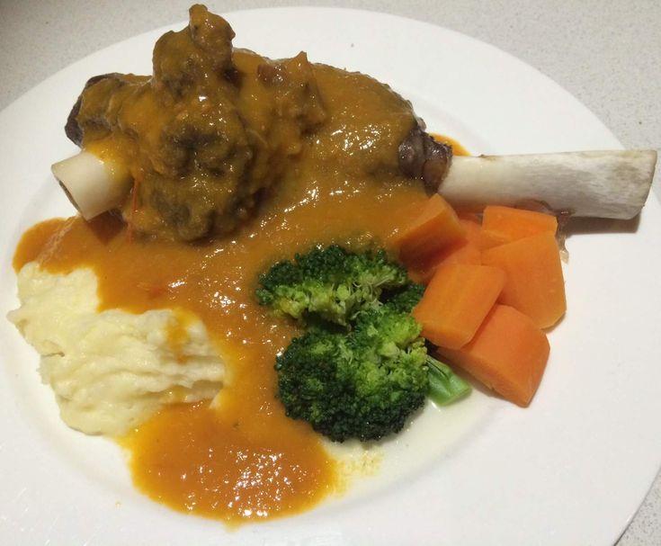 Recipe Varoma Lamb Shanks by Chenoa - Recipe of category Main dishes - meat
