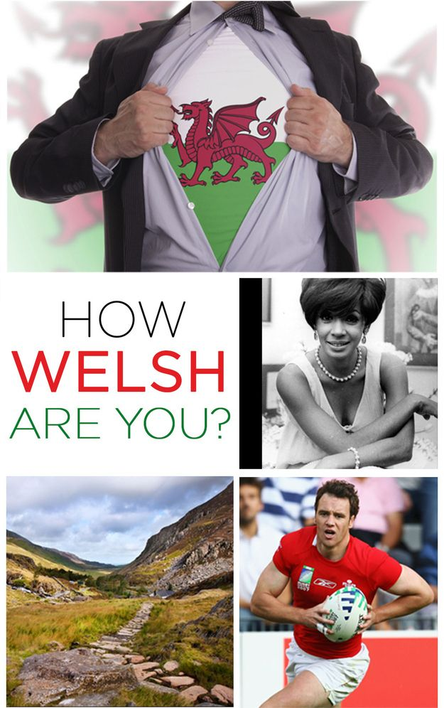 How Welsh Are You? - It's quiz time, grab a daffodil and start ticking them boxes!!