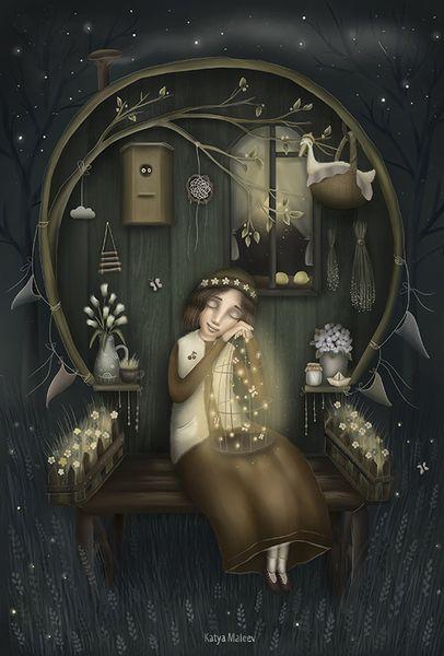 «Юля». Катя Малеев.  #helloposter #poster #posters #art #modernart #printart #illustrators #illustration