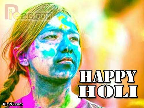10 Best Happy Holi Greeting Cards and Wishes Images !