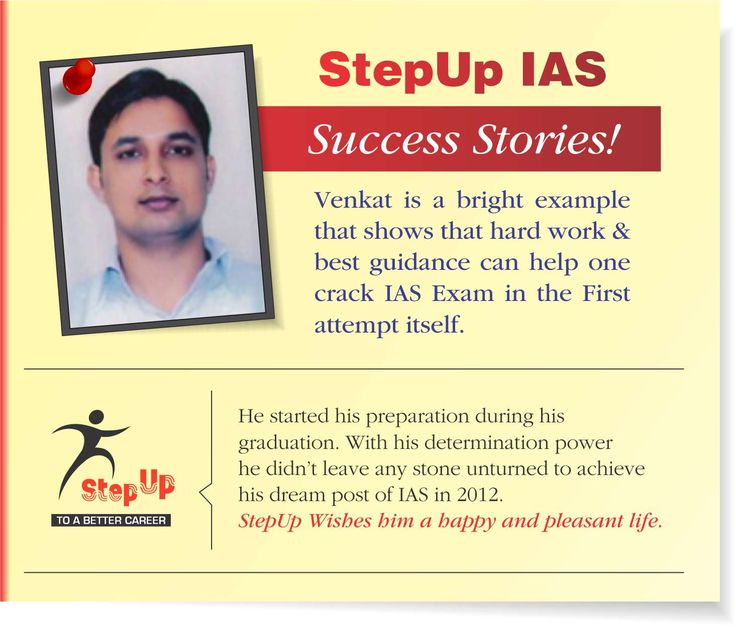 This is a matter of great happiness and pride, We would like to share #successstory each of our students here, with you folks. Watch this space. Visit: http://www.stepupias.com/ OR Call: 09873102982