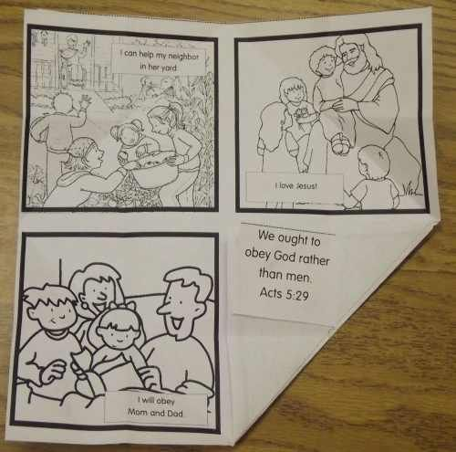 This little activity should give you the opportunity to discuss the whole duty of man with your students. The activity itself looks a whole lot more complicated than it actually is. It would really look better if it was printed on colored copy paper but the final activity involves 4 pictures to...