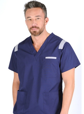 urban looking scrub uniform for men