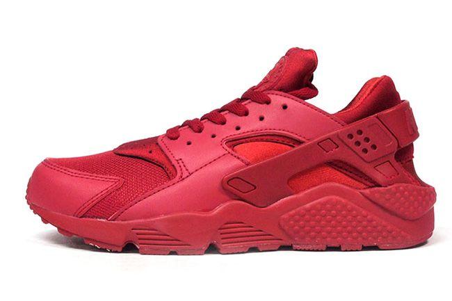 Nike Huarache Blancas Y Rojas