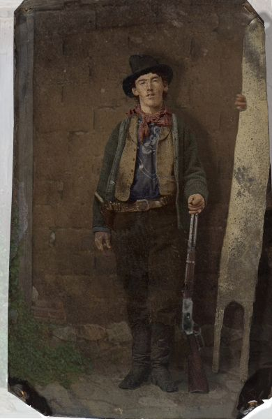 Billy the Kid in colour