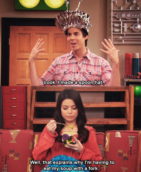 I love Spencer. :P and liam payne wouldnt be complaining if he were carly...if that makes sense...
