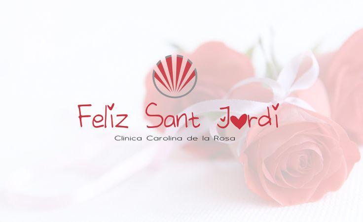 Feliz Sant Jordi desde la Clínica Carolina de la Rosa
