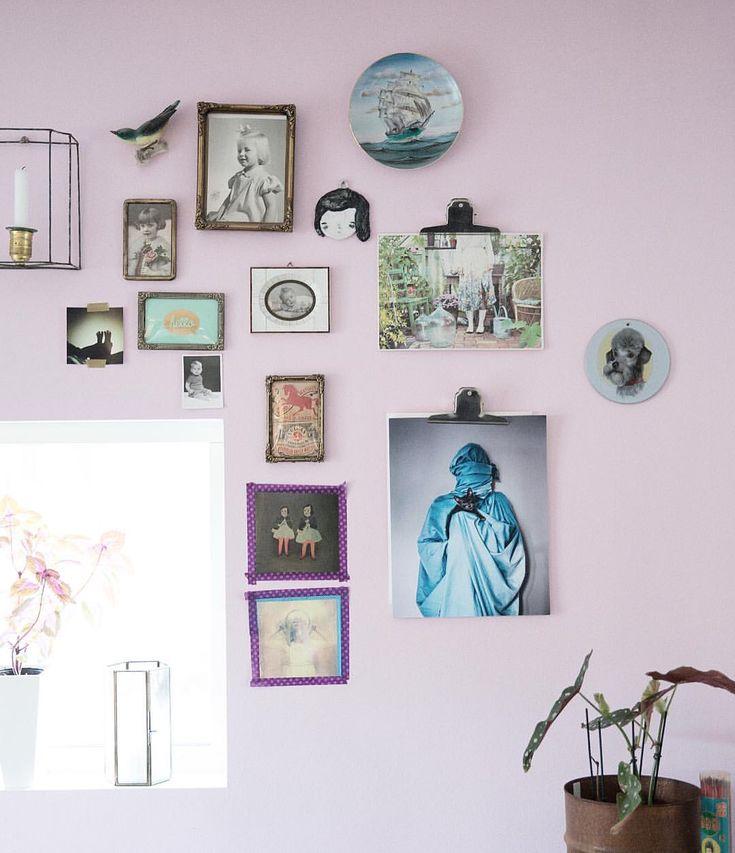 """Pink Wall. Picture Wall. Jenny and Jens. Photographic art. 101 Likes, 2 Comments - Jenny & Jens Brandt Grönberg (@jennyojens) on Instagram: """"""""Wrapped with cat"""" at @kollijox 's home. 30x42cm €60  jennyojens.com"""""""