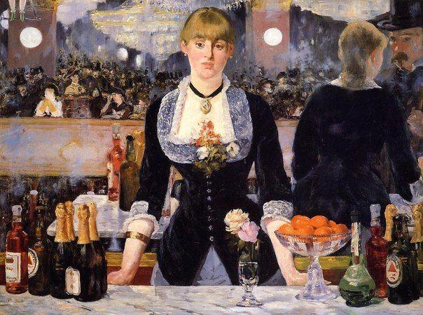 Эдуард Мане «Бар в Фоли-Бержер» (1882)