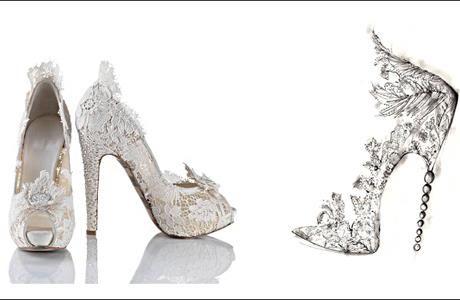 Серебряные туфли на каблуке киев