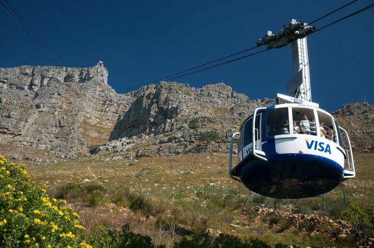 Cable Car up to Table Mountain (SA Tourism)