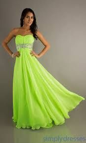 black or lime green bridesmaid dresses - Google Search