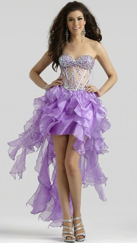 Prom Dresses- her hair color goes with this dress perfectly !