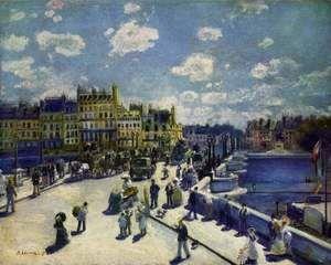 Le Pont Neuf Paris  Pierre Auguste Renoir