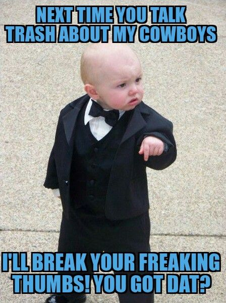 Funny #DallasCowboys meme! #LMAO..take it easy baby, take it easy...http://www.eticketpros.com/Cheap-Dallas-Cowboys-Tickets