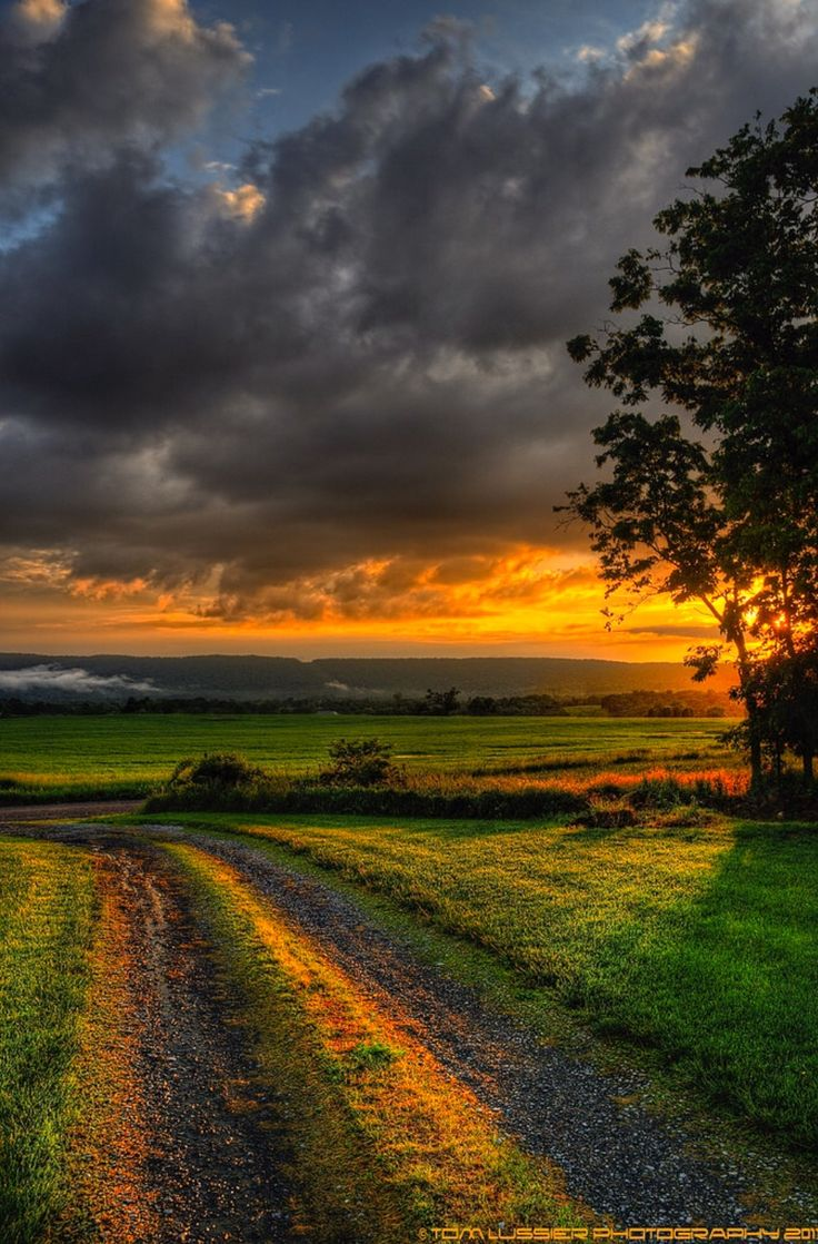 ***Sunset after the storm (Virginia) by Tom Lussier Photography E