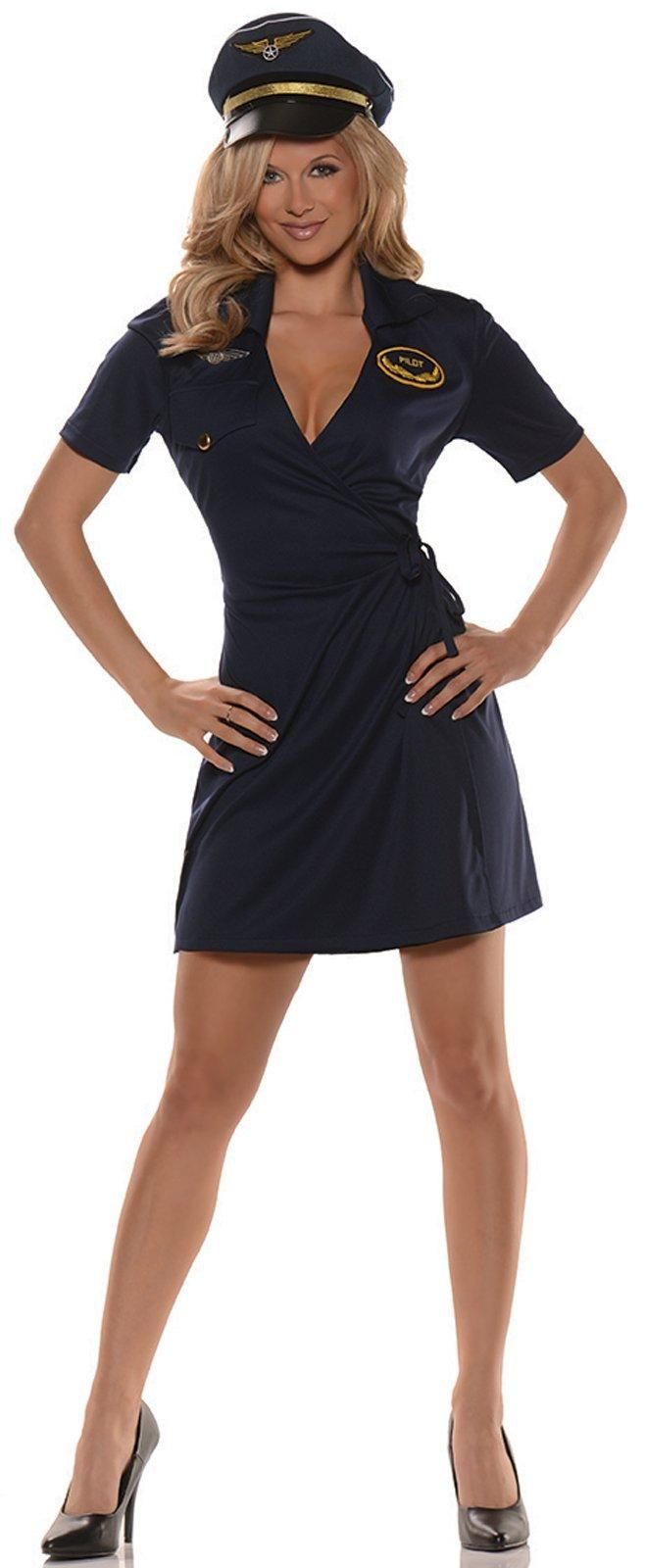 Mile High Pilot Costume For Women from Buycostumes.com