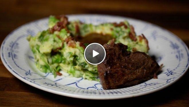 24 kitchen   Andijviestamppot met filet lapje   Rudolph van Veen