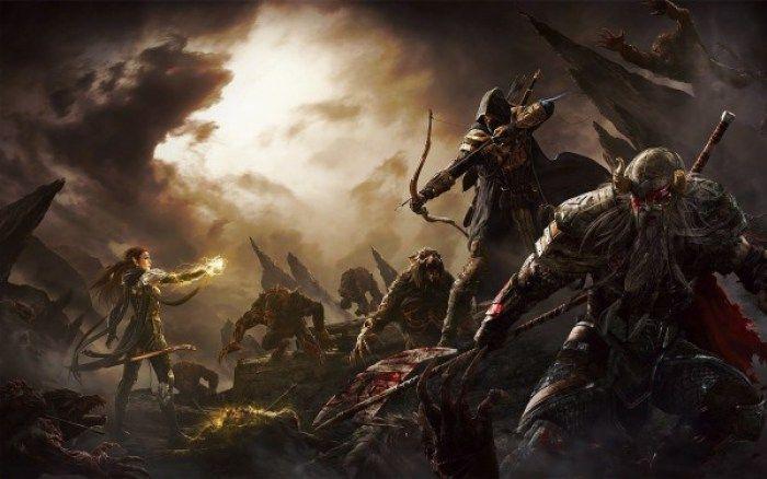 The Elder Scrolls Online Native 4K Gameplay on PS4 Pro Looks Fantastic