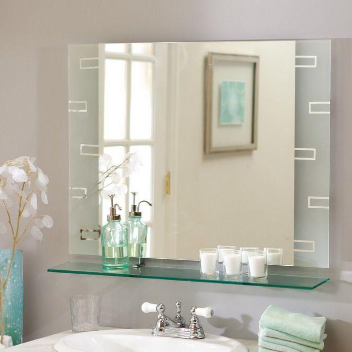 Wonderful Small Bathroom Mirror Ideas Nice Ideas