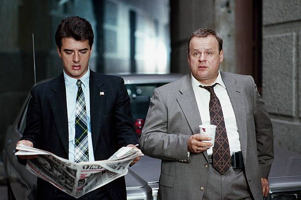 Chris Noth as Detective Mike Logan George Dzundza as Det Sgt Maxwell 'Max' Greevey