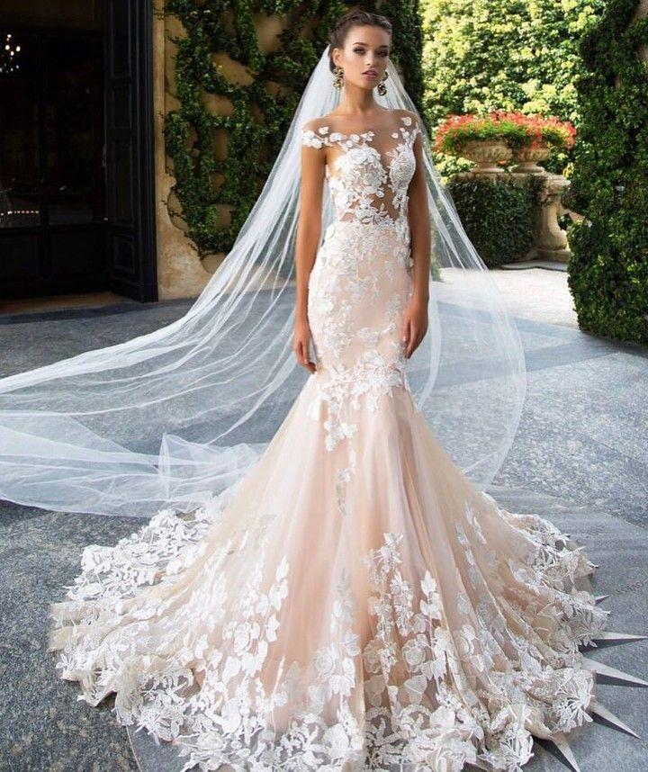 Mermaid Tail Wedding Gown