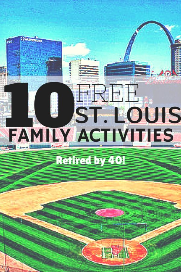 Have fun on a budget with these 10 places you can find activities that adults and kids alike will enjoy - and all for free!  http://www.retiredby40blog.com/2014/03/24/free-family-activities-in-st-louis/