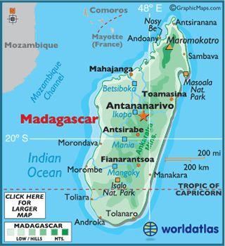 4: Madagascar.
