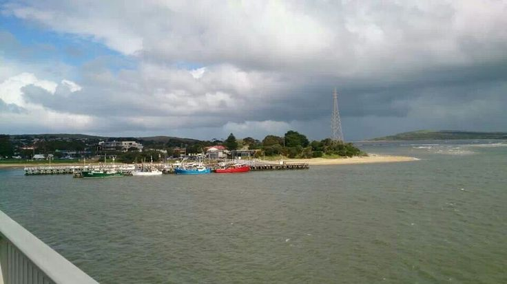 Crossing the bridge to phillip island