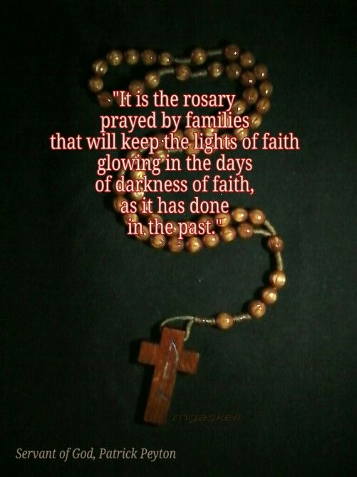 """""""The Rosary is the weapon."""""""