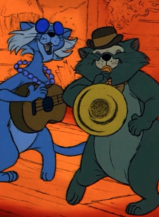 *??? & SCAT THE CAT ~ The Aristocats, 1970
