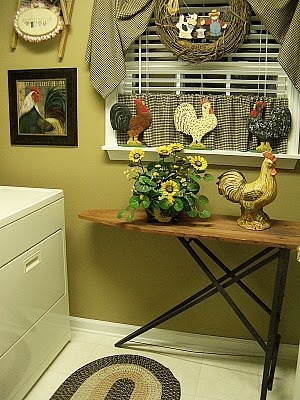 Wish my laundry room was big enough for an old ironing board