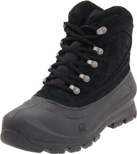 Sorel Men's Cold Mountain Snow Boot,Black,10 M US - http://authenticboots.com/sorel-mens-cold-mountain-snow-bootblack10-m-us/