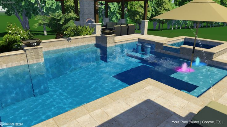 36 best Pool Design Ideas | Montgomery County Texas images on ...
