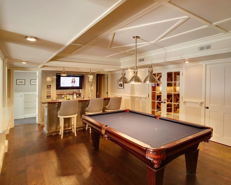 15 stunning transitional basement design | basements, basement