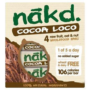Barre énergétique cacao avoine - Nakd