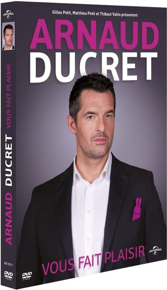 Arnaud Ducret vous fait plaisir - DVD NEUF