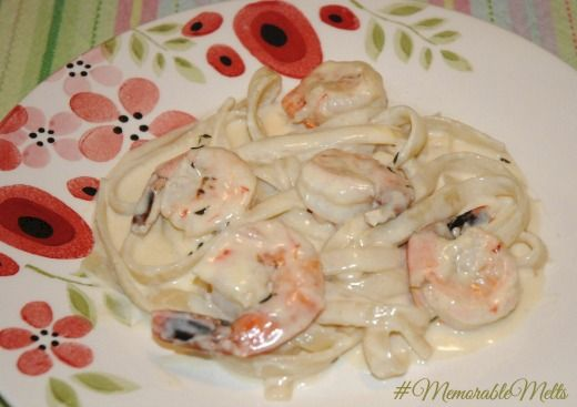 Shrimp Alfredo #MemorableMelts