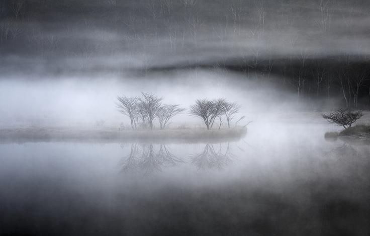 Mysterious Pond Photo by Teruo Araya - 2016 National Geographic Travel Photographer of the Year