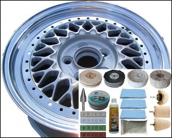 Alloy Wheel Polishing Kit